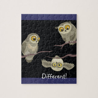 Different! Upside Down Owl!~puzzle Puzzle