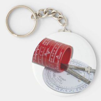 DifferentTypeMeasure061210Shadows Basic Round Button Keychain
