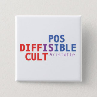 Difficult is possible - Aristotle Button