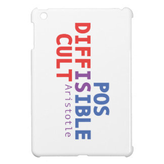Difficult is possible - Aristotle iPad Mini Case