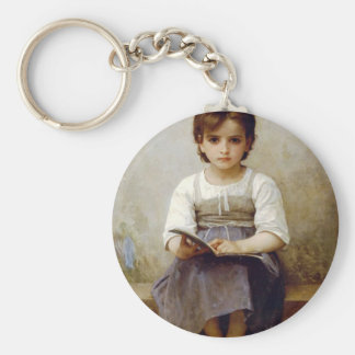 Difficult lesson keychain