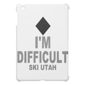 Difficult Ski Utah Cover For The iPad Mini