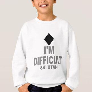 Difficult Ski Utah Sweatshirt