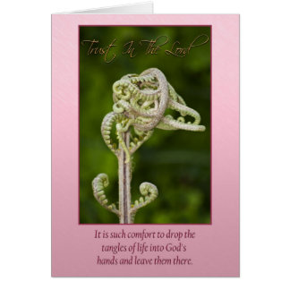 Difficult Times Greeting Card