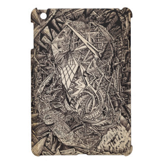 Diffracted (cavern dweller) case for the iPad mini