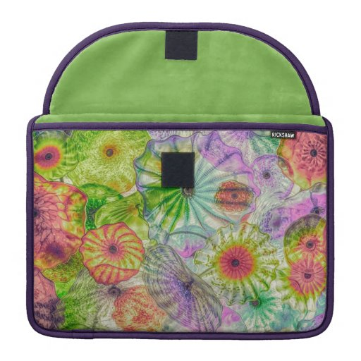 Diffused Glass Flowers MacBook Pro Sleeve