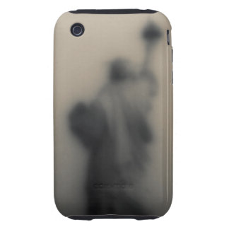 Diffused image of the Statue of Liberty Tough iPhone 3 Covers