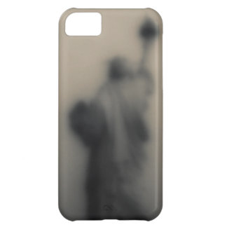 Diffused image of the Statue of Liberty Case For iPhone 5C