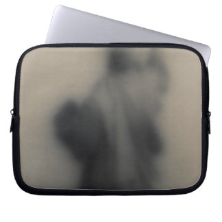 Diffused image of the Statue of Liberty Laptop Sleeve