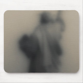 Diffused image of the Statue of Liberty Mouse Pad