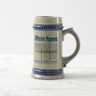 Diffusion Happens Beer Stein