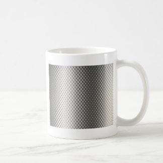 Diffusion of Flourescent Light on Metallic Texture Coffee Mug