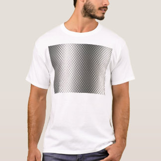 Diffusion of Flourescent Light on Metallic Texture T-Shirt