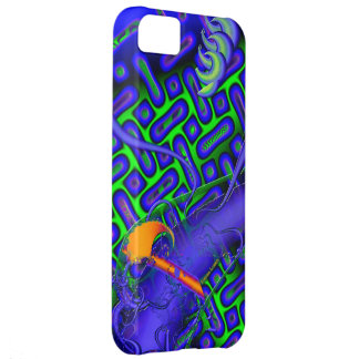 Difícil maldiga el fractal 3D Carcasa iPhone 5C