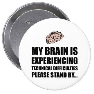 Dificultades técnicas del cerebro pin redondo 10 cm
