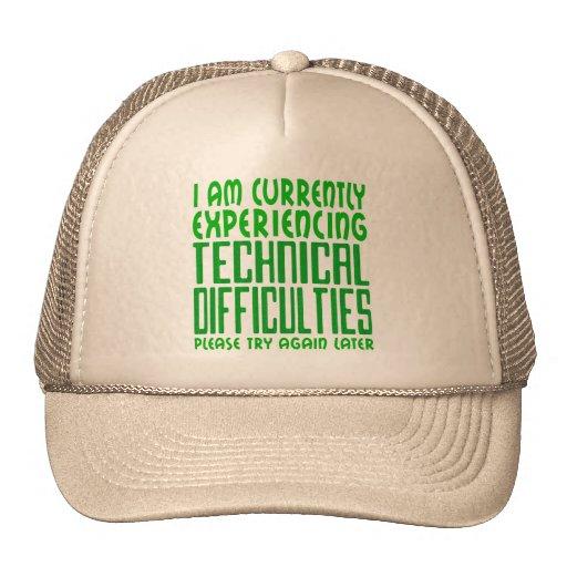 Dificultades técnicas gorras