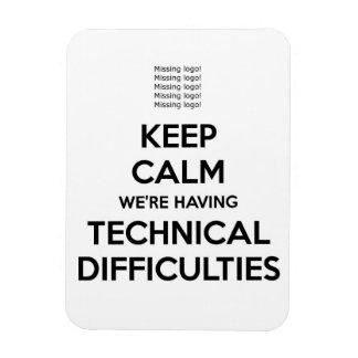 dificultades técnicas iman rectangular