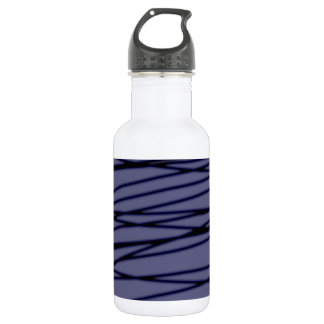 Difuse abstract water bottle