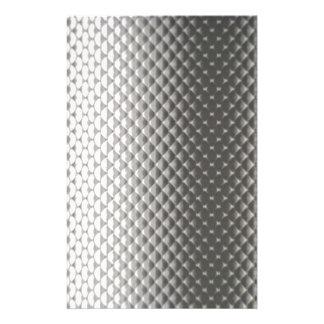 Difusión de la luz en flor en textura metálica papeleria personalizada