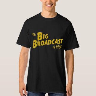 """""""Difusión grande de 1954"""" camisetas (oscuras)"""