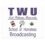 Difusión sin hogar de Ted Williams Postal