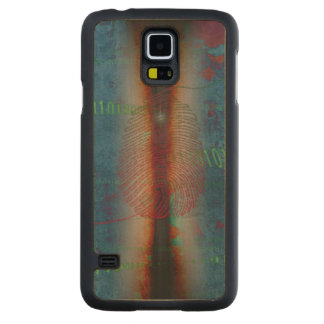 DIG1TS 2014 CARVED® MAPLE GALAXY S5 SLIM CASE