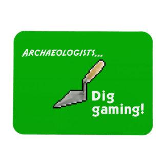 Dig Gaming! Fridge Magnet