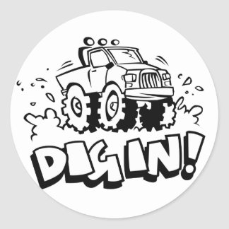Dig In! Stickers