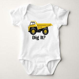 Dig It? - Baby Jersey Bodysuit Baby Bodysuit