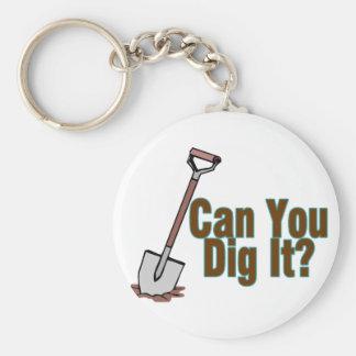 Dig It Key Chains