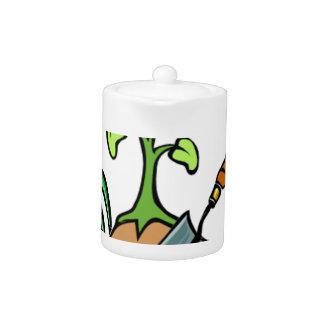 Dig it, life is a Garden Teapot