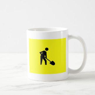 Dig it classic white coffee mug