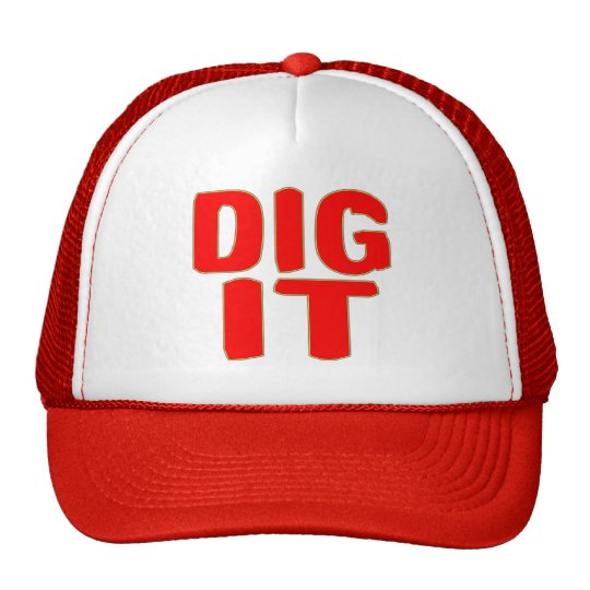Dig It Trucker Hat