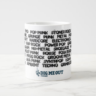 Dig Me Out '90s Music Genres Jumbo Coffee Cup