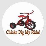 Dig My Ride Stickers