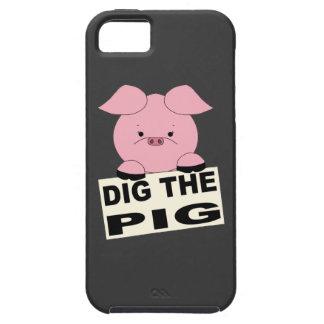 Dig Pig iPhone SE/5/5s Case
