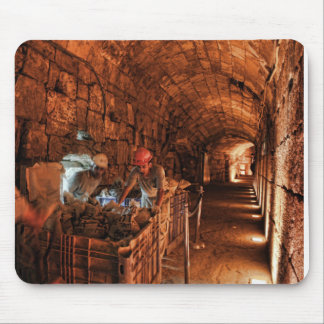 Dig that Kotel tunnel Mousepads