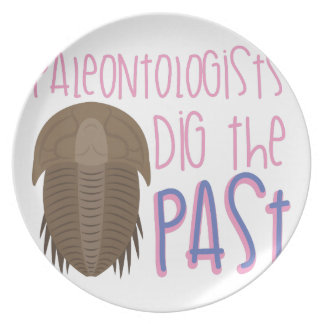 Dig The Past Plate