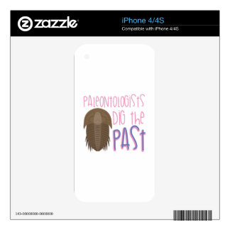 Dig The Past Skins For The iPhone 4S
