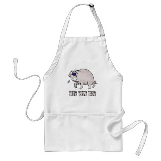 Dig the Pig Adult Apron
