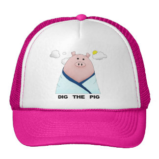 Dig The Pig Trucker Hat