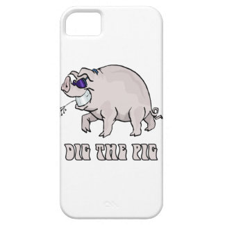 Dig the Pig iPhone SE/5/5s Case