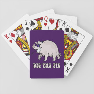 Dig the Pig Playing Cards