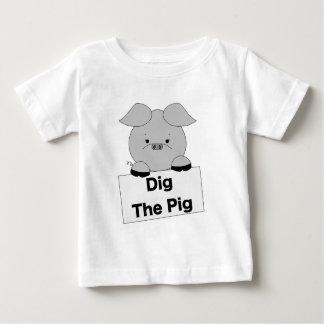 Dig The Piggy Baby T-Shirt
