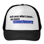 Diga a Coss que sea Boss Gorro De Camionero
