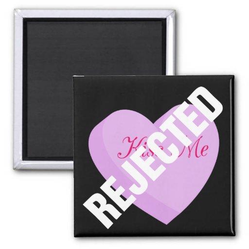 Diga a las tarjetas del día de San Valentín felice Imán