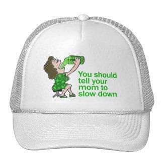 Diga a su mamá retrasar gorras de camionero