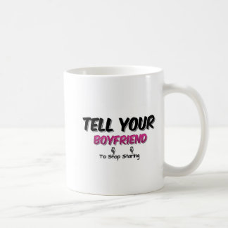 Diga a su novio parar el mirar fijamente tazas