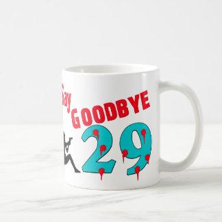 Diga adiós a 29 taza básica blanca