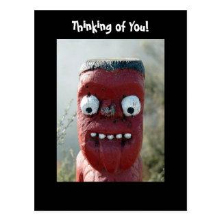 ¡Diga Ahhh, pensando en usted! Tarjeta Postal